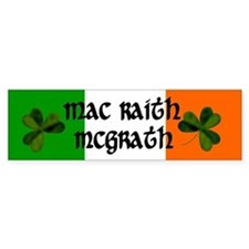 McGrath in Irish & English Bumper Bumper Sticker