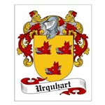 Urquhart Family Crest Small Poster