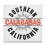 Calabasas California Tile Coaster