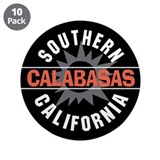 "Calabasas California 3.5"" Button (10 pack)"