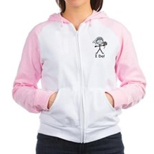 BusyBodies Wedding Bride Women's Raglan Hoodie