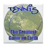 Tennis Earth Tile Coaster