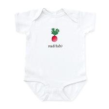 Radish Infant Bodysuit