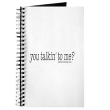 Talkin' to Me? Journal