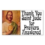 Saint Jude Rectangle Decal