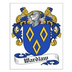 Wardlaw Family Crest Small Poster