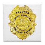 South Carolina Highway Patrol Tile Coaster