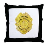 South Carolina Highway Patrol Throw Pillow