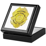 South Carolina Highway Patrol Keepsake Box