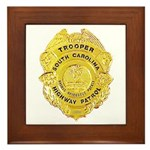 South Carolina Highway Patrol Framed Tile