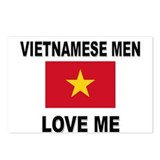 Vietnamese Men Love Me Postcards (Package of 8)