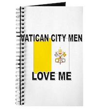 Vatican City Men Love Me Journal