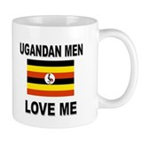Ugandan Men Love Me Small Mug