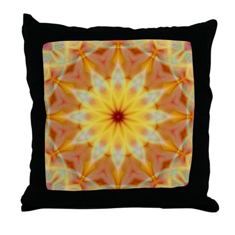 Emperor's Sun Throw Pillow