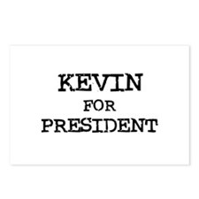 Kevin for President Postcards (Package of 8)