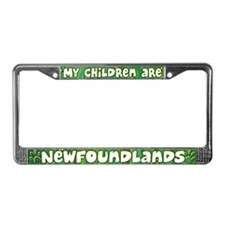 My Children Newfoundland License Plate Frame