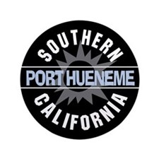"Port Hueneme California 3.5"" Button (100 pack)"