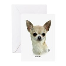 Chihuahua 9P93D-123 Greeting Cards (Pk of 10)