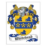 Whitehead Family Crest Small Poster