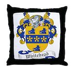 Whitehead Family Crest Throw Pillow