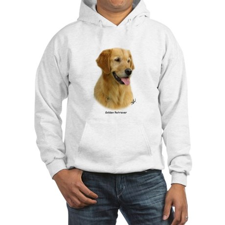 Golden Retriever 9K011D-08 Hooded Sweatshirt