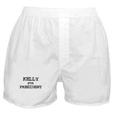 Kelly for President Boxer Shorts