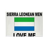 Sierra Leonean Men Love Me Rectangle Magnet (10 pa