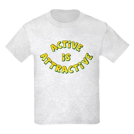Active Is Attractive Kids Light T-Shirt