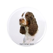 "English Springer Spaniel 8M15D-05 3.5"" Button"