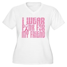 I Wear Pink For My Friend 16 T-Shirt