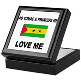Sao Tomae & Principe Men Love Me Keepsake Box