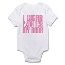 I Wear Pink For My Nana 16 Infant Bodysuit