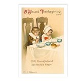 Blessed Thanksgiving Postcards (Package of 8)