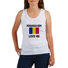 Romanian Men Love Me Women's Tank Top