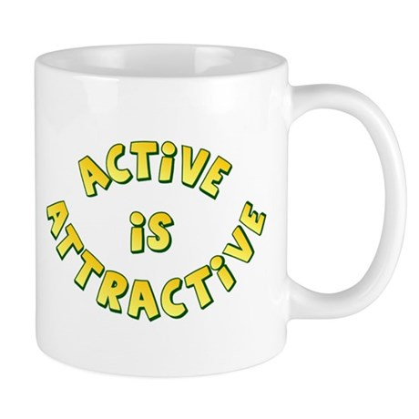 Active Is Attractive Mug