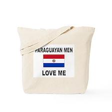 Paraguayan Men Love Me Tote Bag
