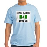 Norfolk Island Men Love Me T-Shirt