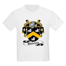 Whitelaw Family Crest Kids T-Shirt