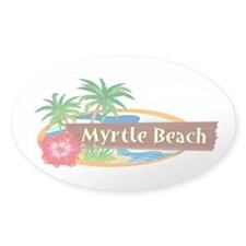 Classic Myrtle Beach - Oval Decal