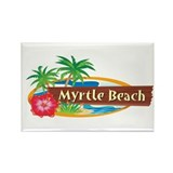 Classic Myrtle Beach - Rectangle Magnet