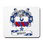 Wilkins Family Crest Mousepad