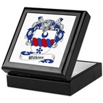 Wilkins Family Crest Keepsake Box