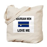Nauruan Men Love Me Tote Bag