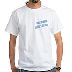 Papa's the name White T-Shirt