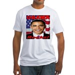 Obama Rocks Fitted T-Shirt