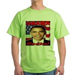 Obama Rocks Green T-Shirt