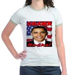 Obama Rocks Jr. Ringer T-Shirt