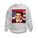 Obama Rocks Kids Sweatshirt