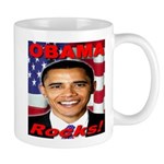 Obama Rocks Mug