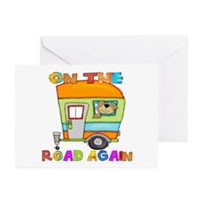 On the road again Greeting Cards (Pk of 20)
